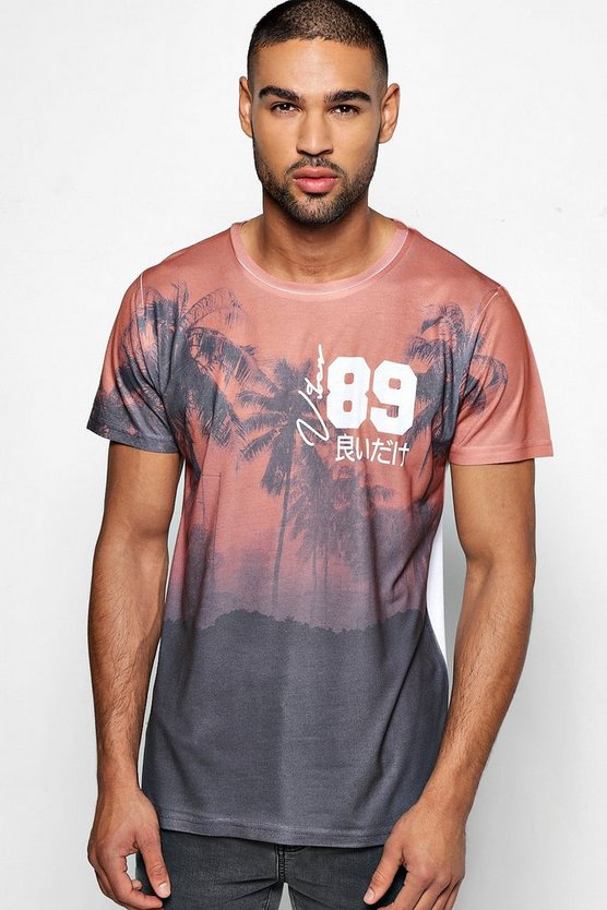 Palm 89 Sublimation T Shirt