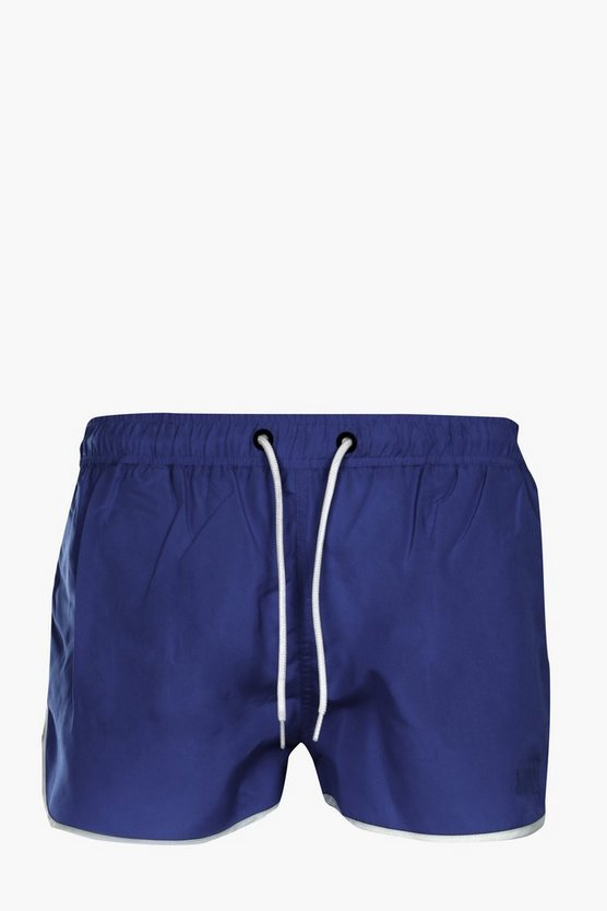 Plain Runner Swim Shorts