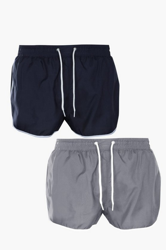 2 Pack Runner Swim Short