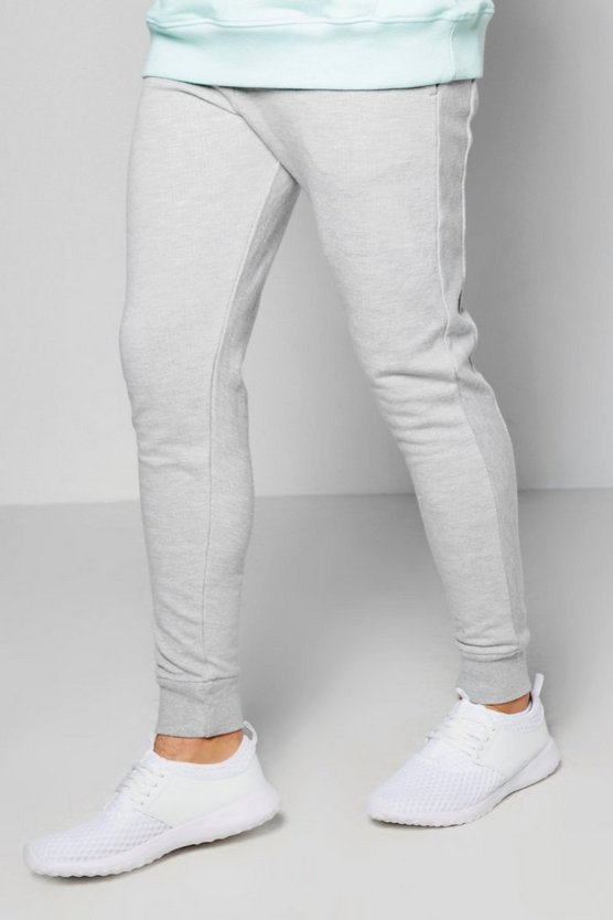 Pique Joggers In Skinny Fit