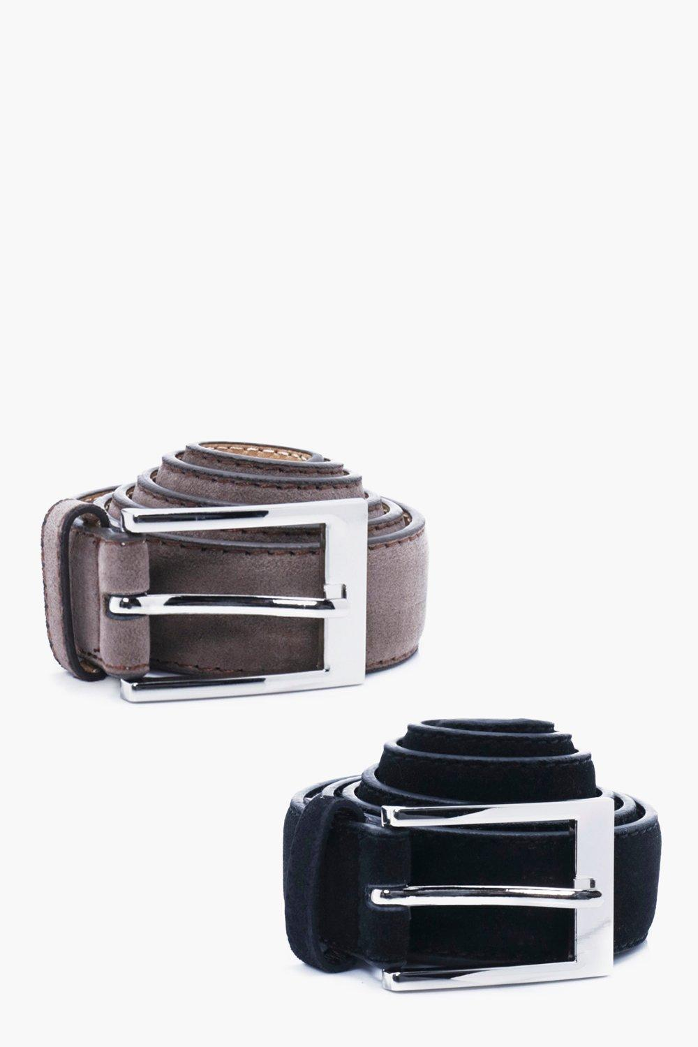 Suede Belt With Metal Buckle Multipack - multi - F
