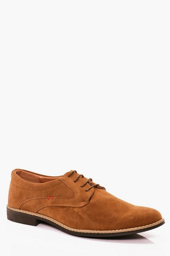 Suede Lace Up Shoe