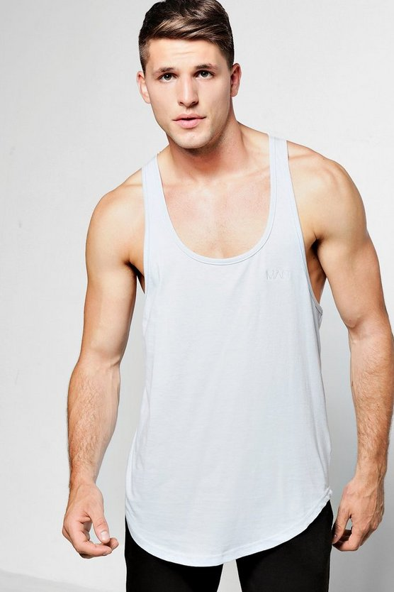 Longline Racer Vest With MAN Logo