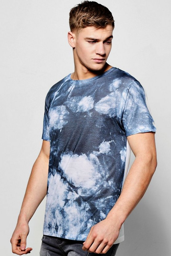 t-shirt par sublimation effet tie-dye nyc