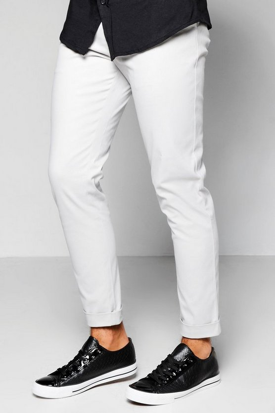 Tapered Fit Chino With Stretch