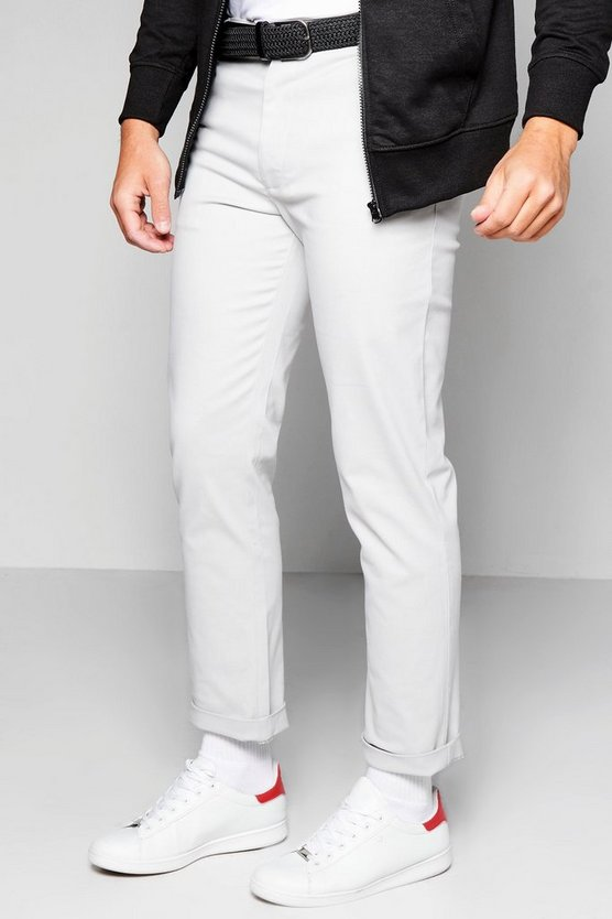 Straight Chino With Stretch