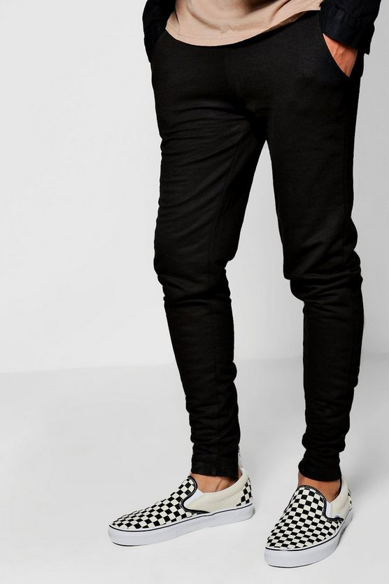 Back Zip Detail Joggers