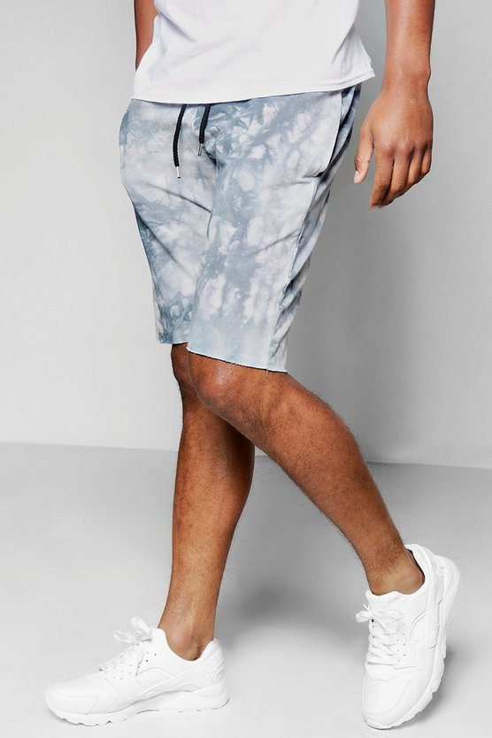 Tie Dye Mid Length Shorts