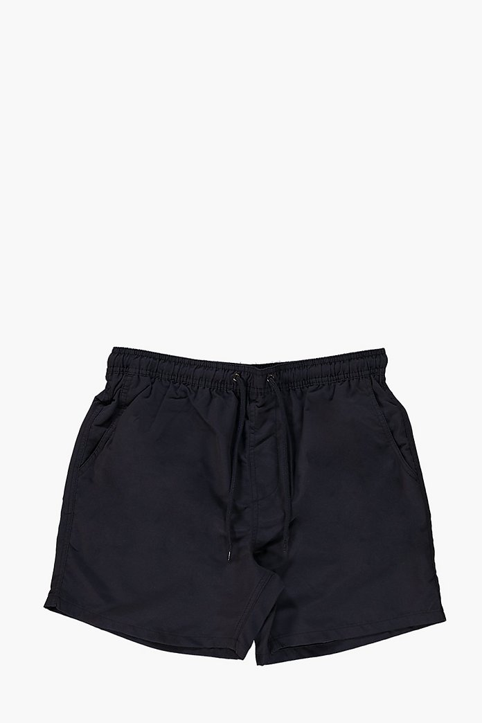 Short Length Plain Swim Shorts