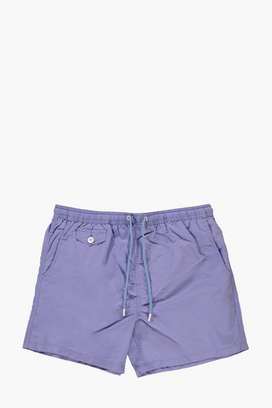 Short Length Taslan Swim Shorts