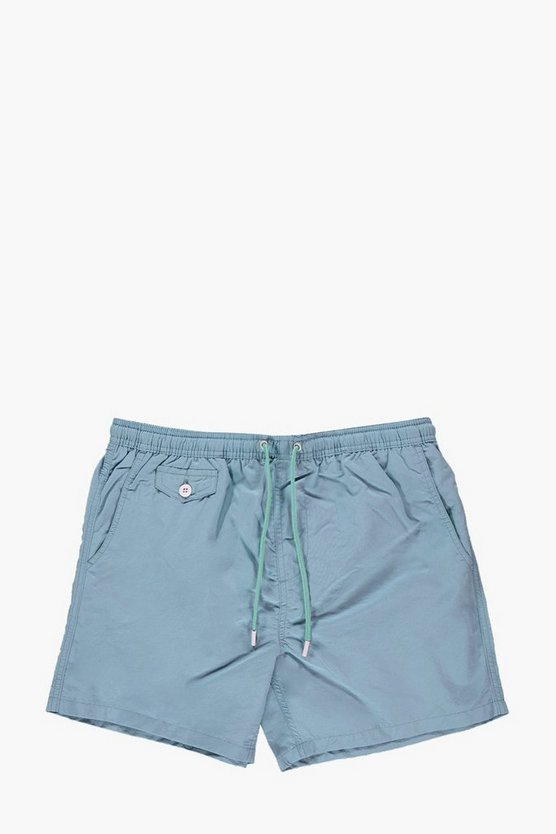 Short Length Taslan Swim Short