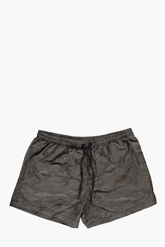 Short Length Camo Swim Short