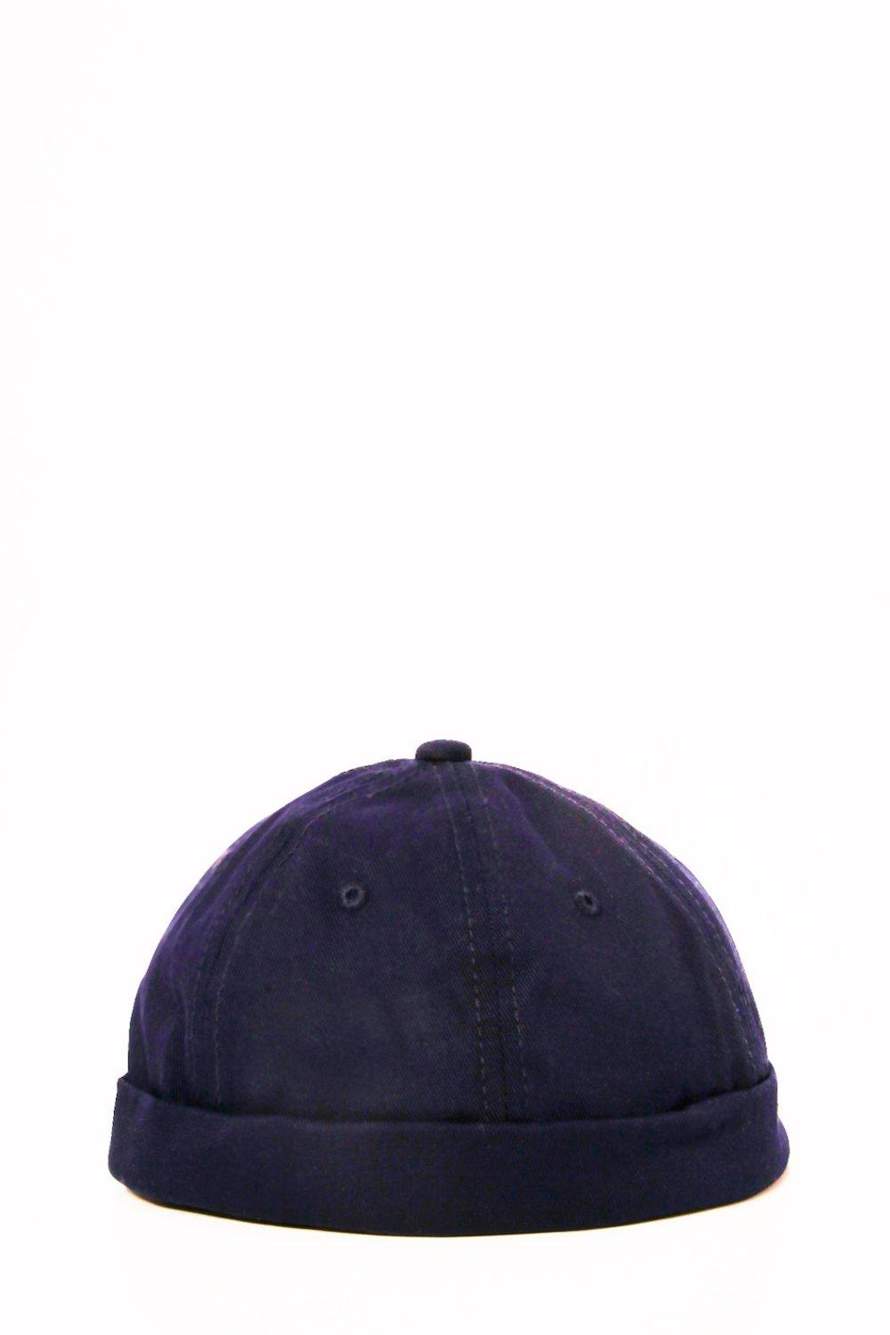 Panel Beanie - navy - Six Panel Beanie - navy