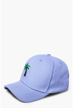 Palm Tree Embroidered Cap