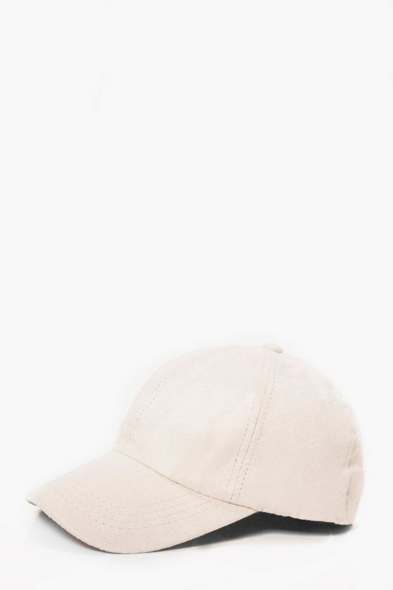 Faux Suede Snapback
