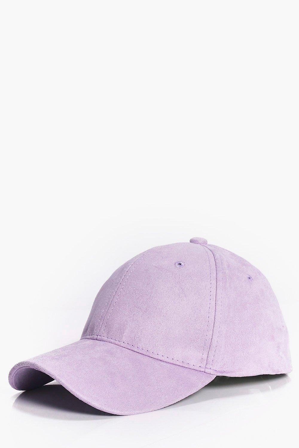 Suede Snapback - lilac - Faux Suede Snapback - lil