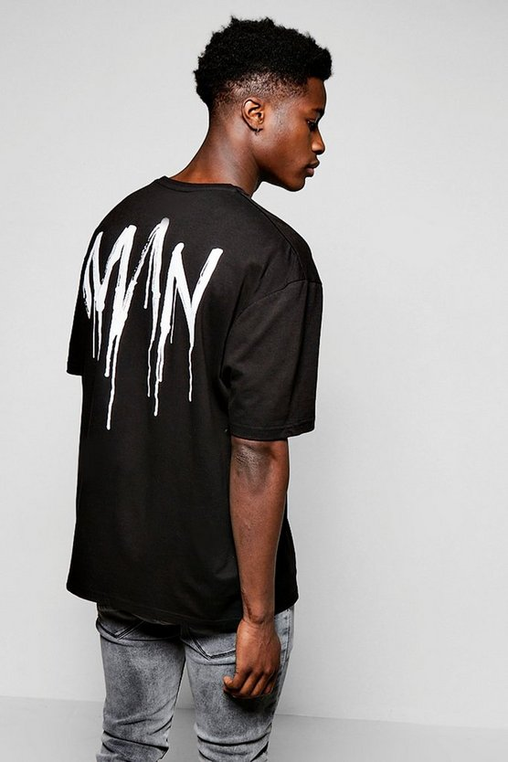 T-Shirt homme coupe ample