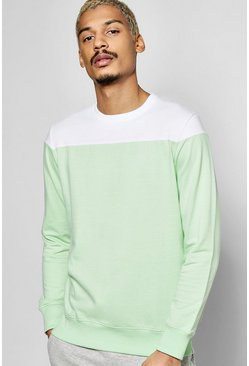 Yoke Panelled Sweatshirt