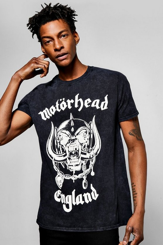Motorhead Snow Washed T Shirt