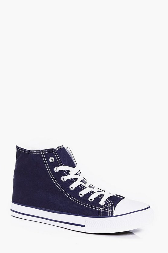 High Top Canvas Plimsoll