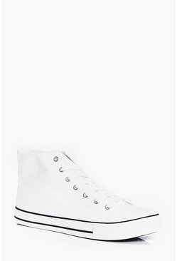 High Top Canvas Plimsol
