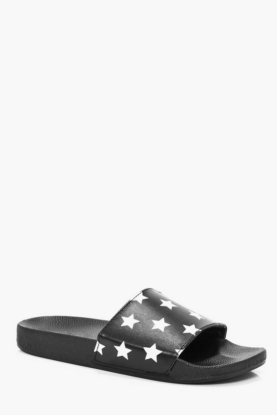 Faux Skin Star Pool Sliders