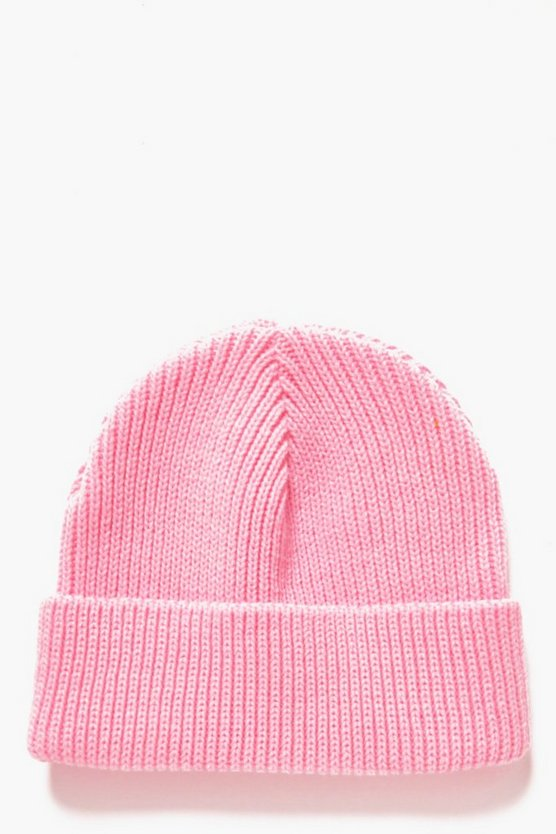 Ribbed Fisherman Beanie