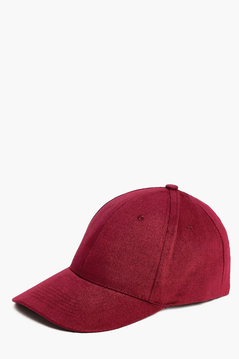 Cap - burgundy - Basic Cap - burgundy
