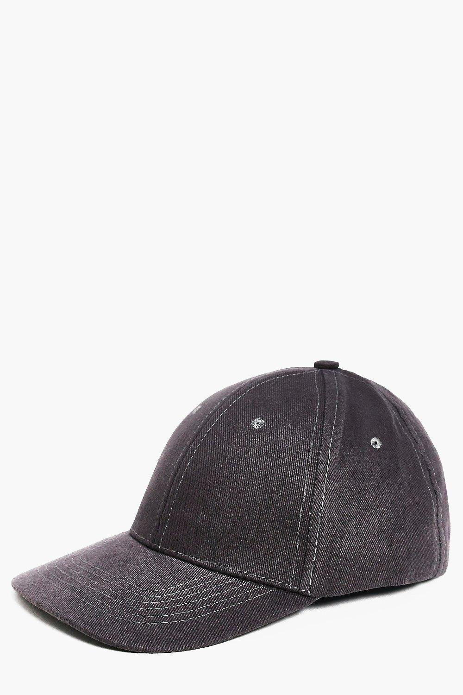 Cap - charcoal - Basic Cap - charcoal