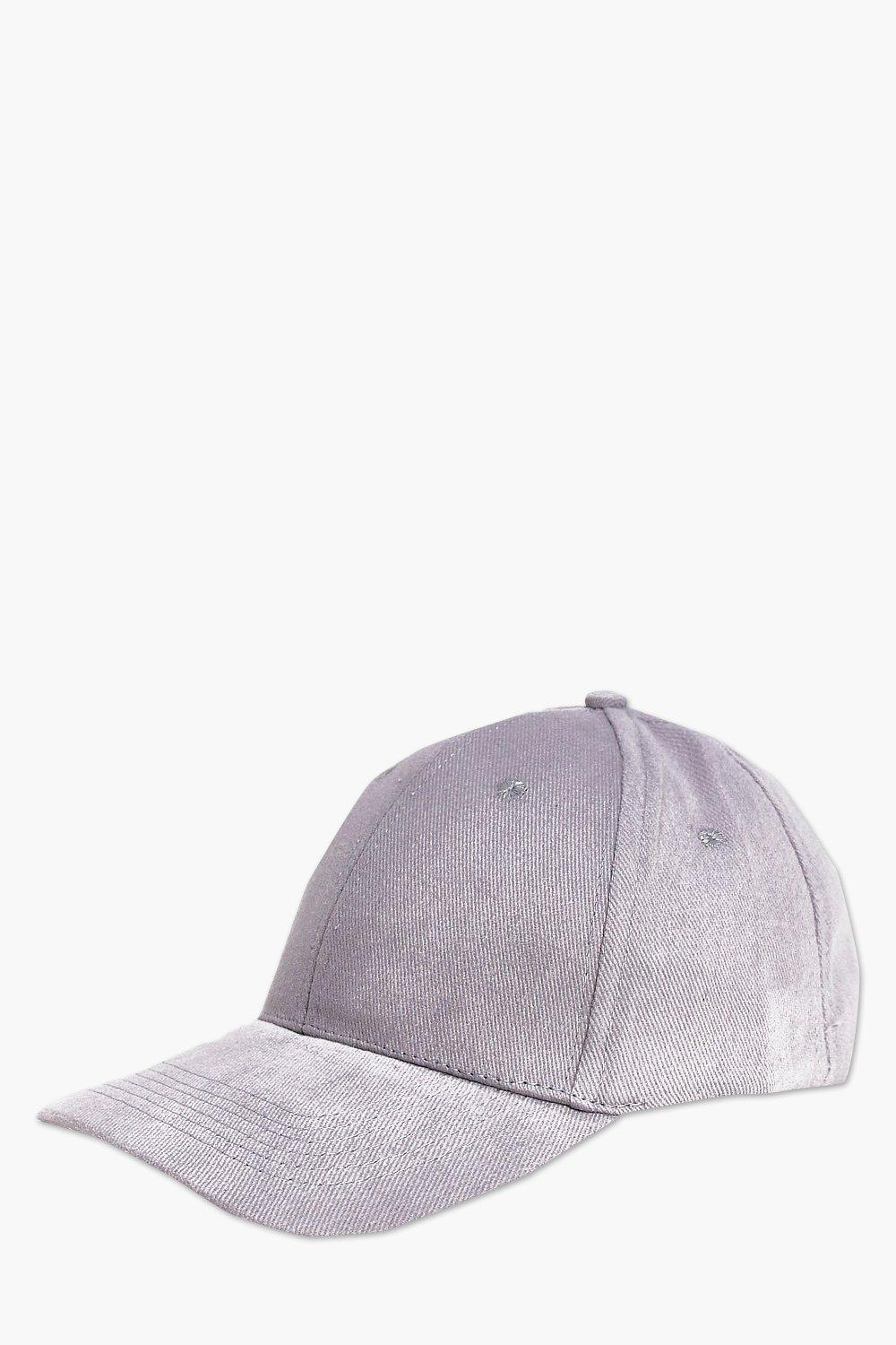 Cap - grey - Basic Cap - grey