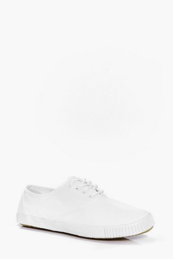 Lace Up Plimsols
