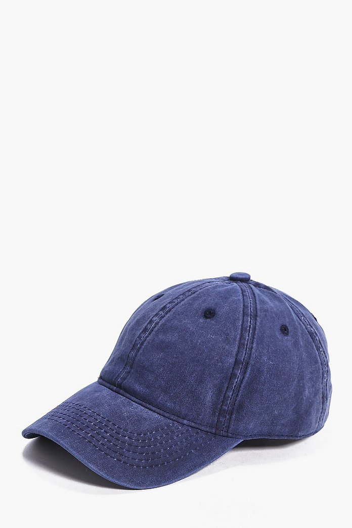 Washed Denim Snapback