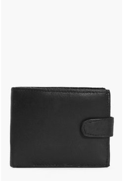 Real Leather Bifold Wallet