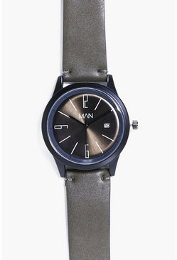 Nylon Strap MAN Watch With Date Window