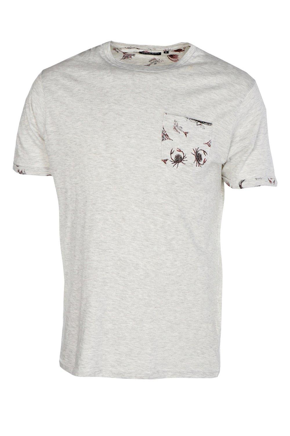 Boohoo mens pocket print t shirt ebay for Pocket t shirt printing