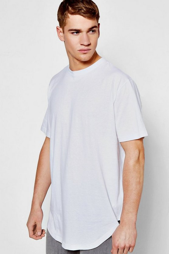 Oversized Back Zip Through T-Shirt