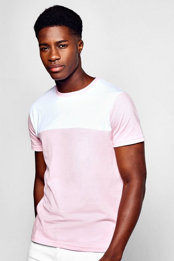 Colour Block T Shirt