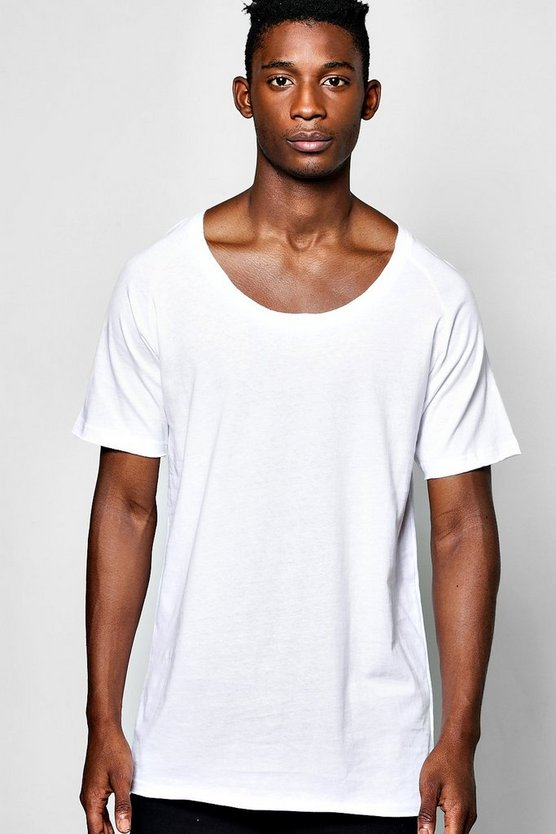 Scoop Neck Raglan T Shirt