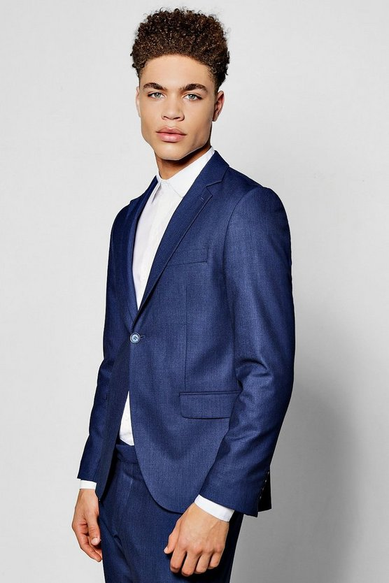 Super Skinny Fit Suit Blazer
