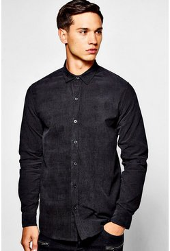 Cord Slim Fit Shirt