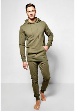 Lightweight Hooded Loungewear Set