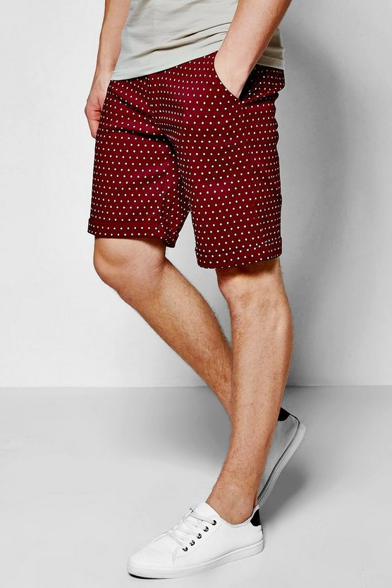 Smart Spot Shorts In Mid Length