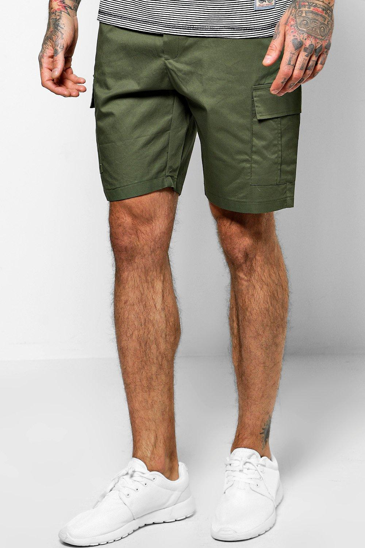 Fit Utility Chino Shorts  khaki