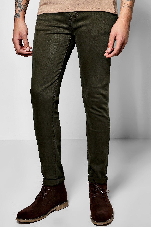 Fit Colour Jeans  khaki