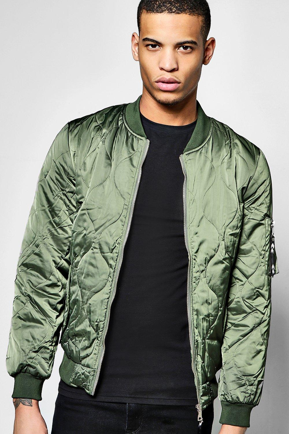 Quilted MA1 Bomber