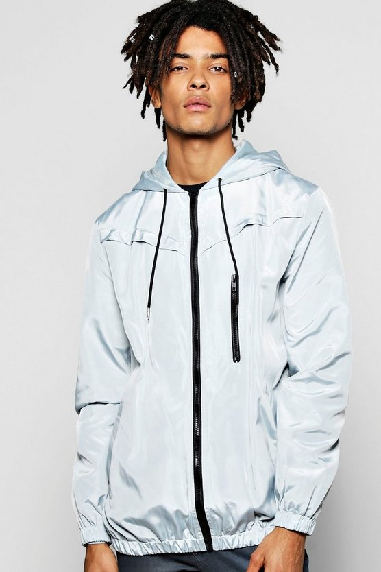 Zip Through Hooded Cagoule