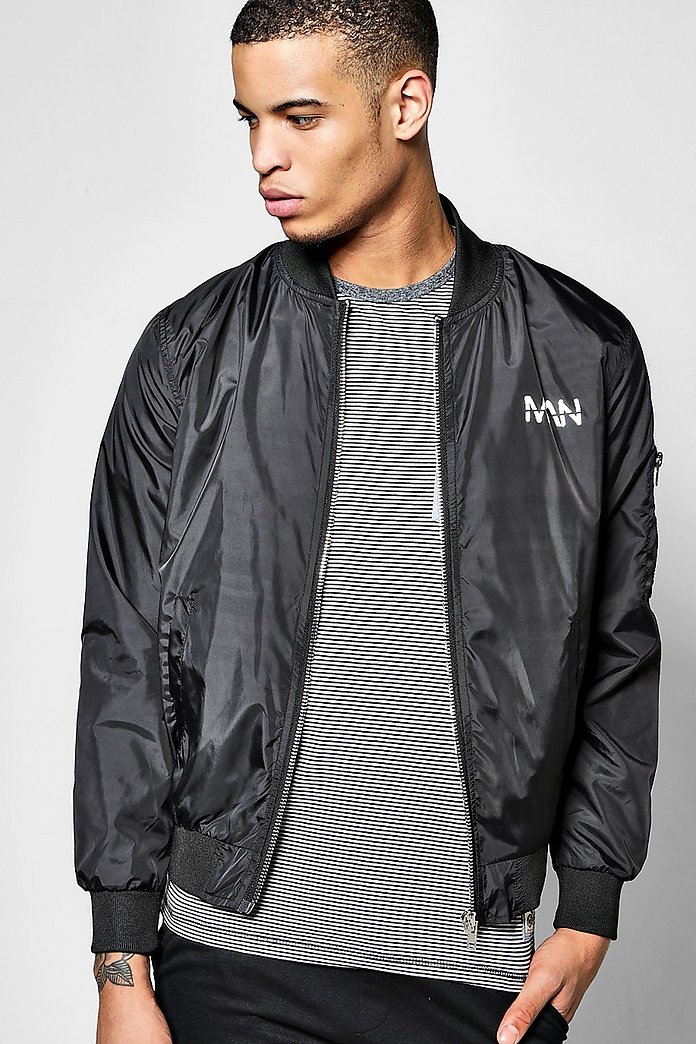 Man Graffiti Print Bomber