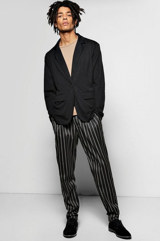 Stripe Slim Fit Trousers