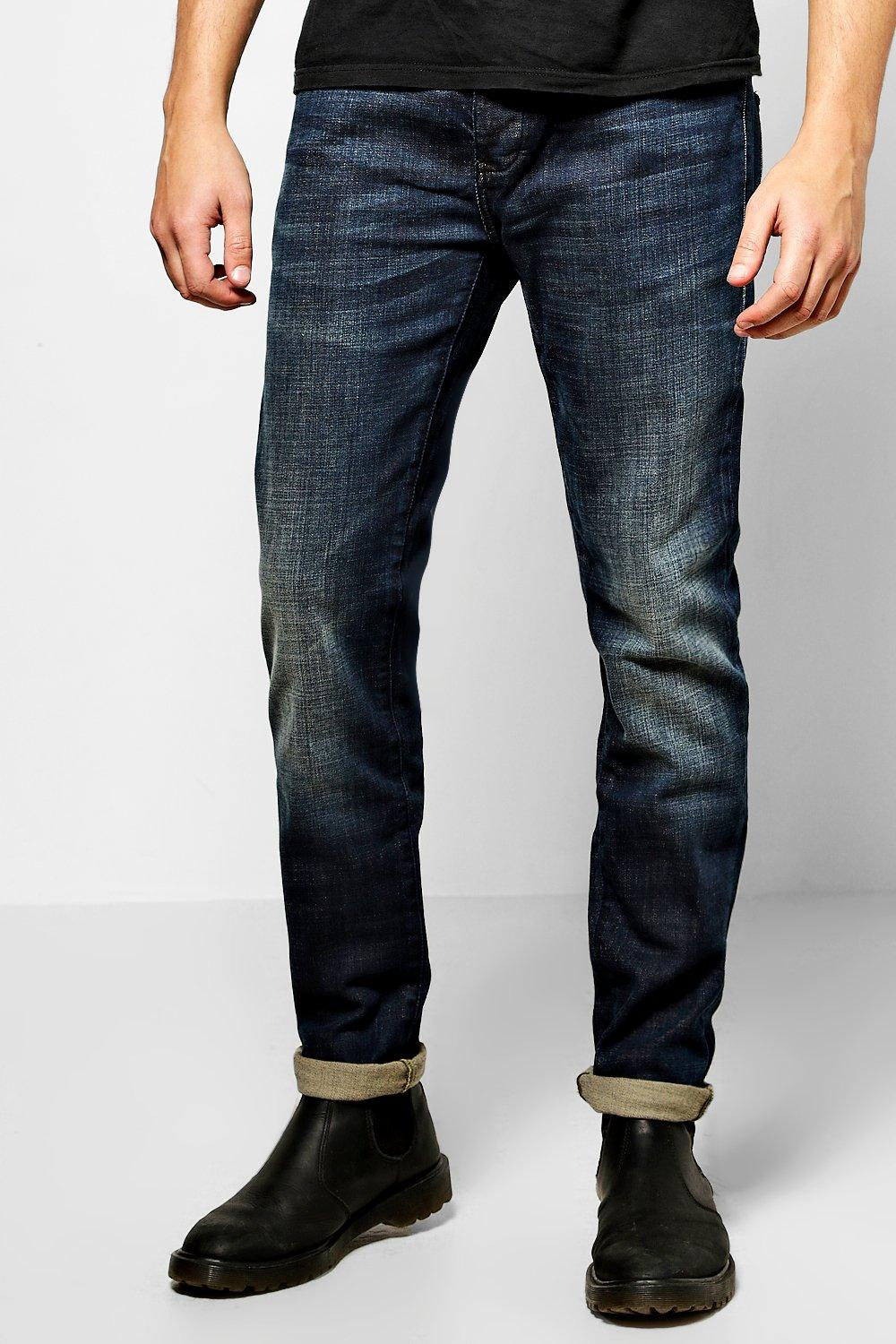 Slim Fit Indigo Jeans