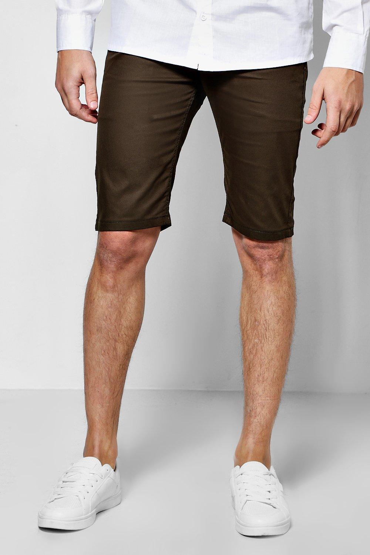 Stretch Chino Shorts  khaki